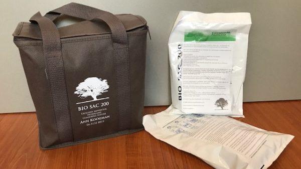 De Bio Sac 200 methode is een nieuwe geheel biologisch en ecologische manier van opbaren.