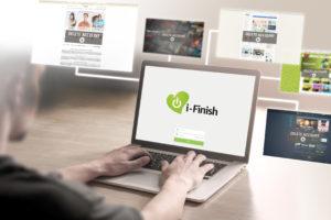Met i-Finish stelt Digitale Nazorg (inter)nationale bedrijven, diensten en instellingen in kennis van het overlijden.