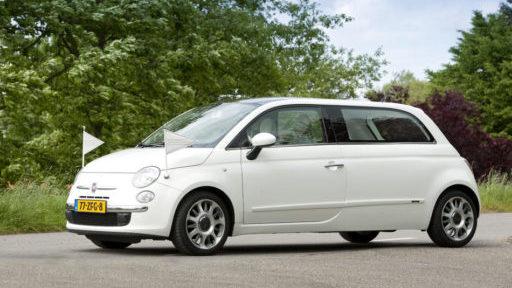 Rouwauto Fiat Kinderrouwauto