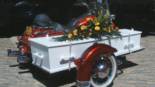 uitvaartmotor harley davidson