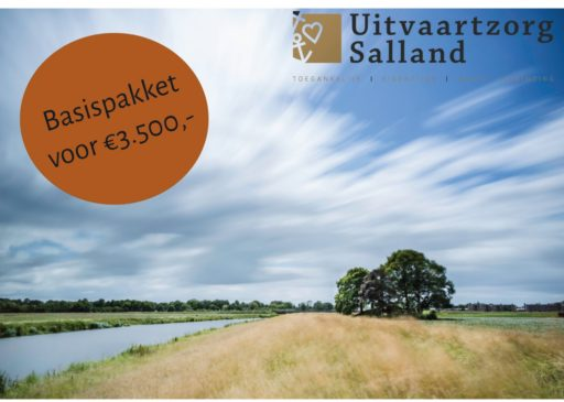 Het Basispakket van Uitvaartzorg Salland voor € 3.500,-